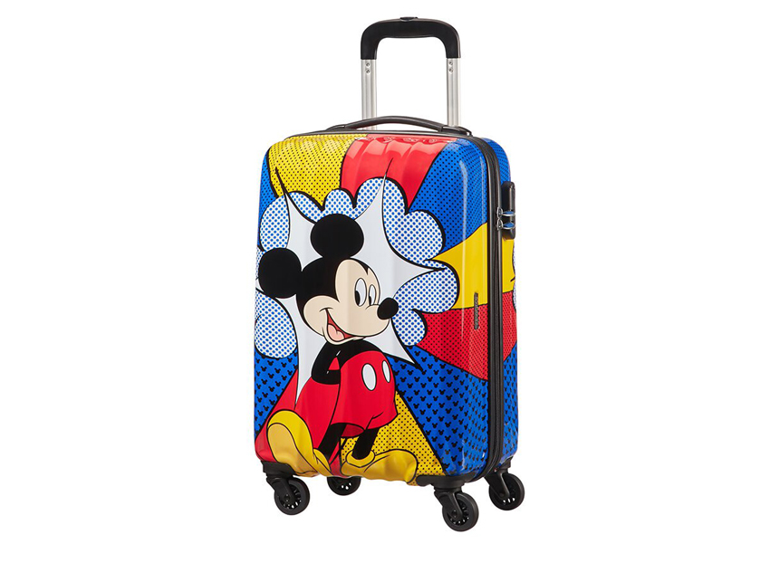 American Tourister Trolley (4 ruote) 55cm Disney Legends 92699-6276 topolino fronte