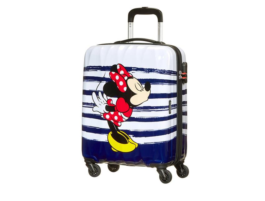 American Tourister Trolley (4 ruote) 65cm Disney Legends 64479-6974 minnie bacio