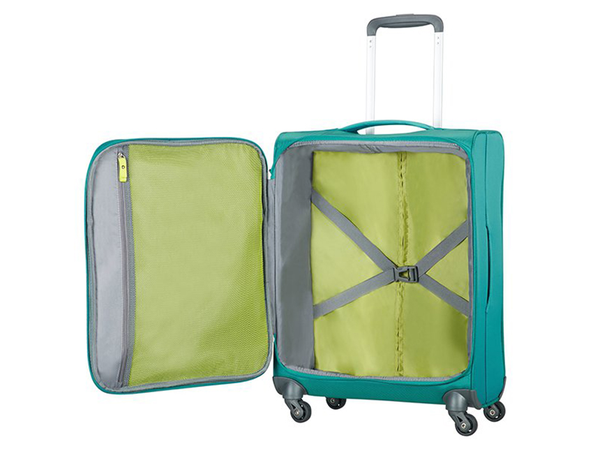 American Tourister - Trolley 55cm - Herolite - SKU 80371 interna acqua