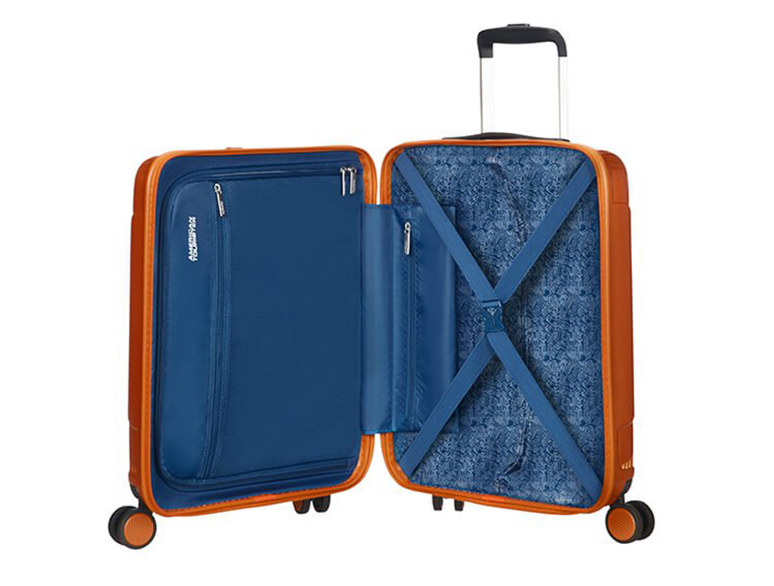 American Tourister - Trolley 55cm - Modern Dream - SKU 110079 interna arancio