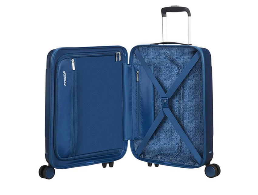American Tourister - Trolley 55cm - Modern Dream - SKU 110079 interna blu