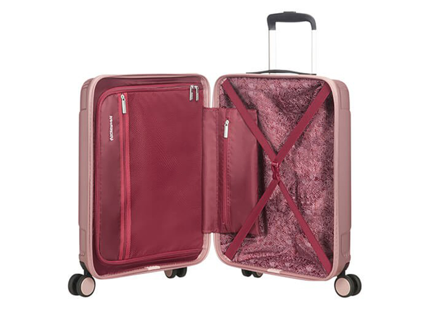 American Tourister - Trolley 55cm - Modern Dream - SKU 110079 interna rosa